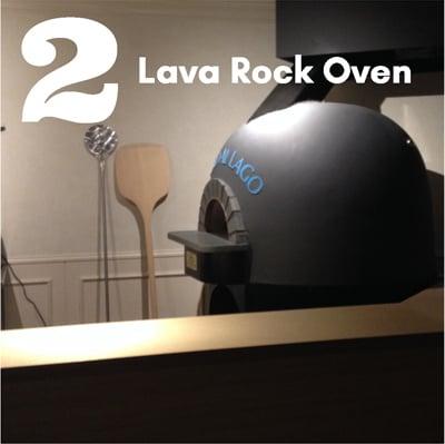 2 Lava Rock Oven